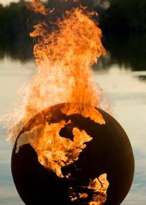 Welt in Flammen