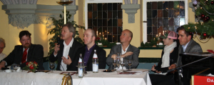 Dezember 2010: Dieter Stein auf dem Podium der COMPACT-Veranstaltung zur Präsentation der ersten Ausgabe von COMPACT, von uns eingeladen...