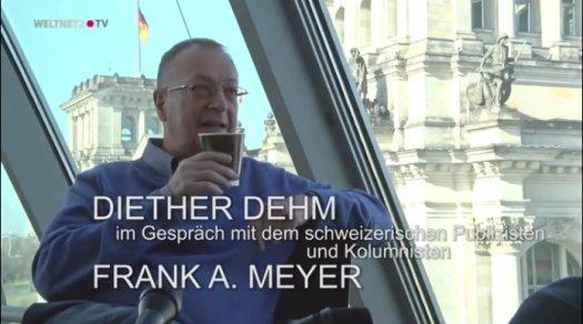 Frank A. Meyer – Freiheit beginnt im Fragen