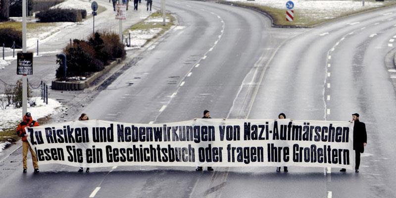 nazi aufmarsch