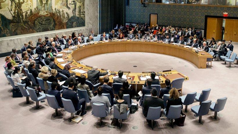 Sitzung UN-Sicherheitsrat