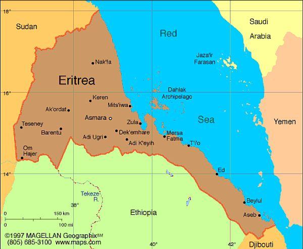 USA bereitet in Eritrea (Afrikas Kuba) Regimechange wie in Libyen vor(UPDATE)