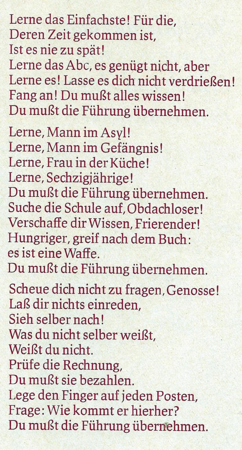 Brecht_Lernen