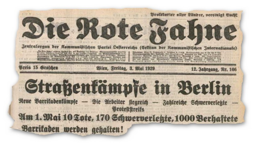 Blutmai 1929