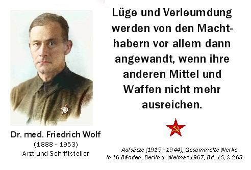 Dr Friedrich Wolf